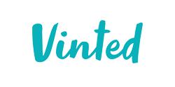 vinted reclame logo