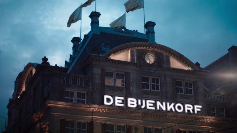 Bijenkorf reclame 2017 Vogeltje
