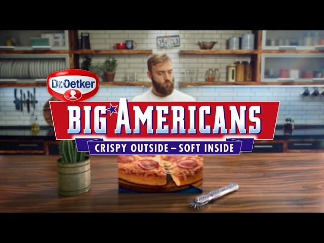dr oetker reclame big americans